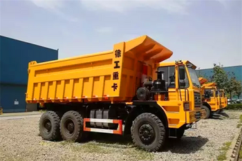 32 millions RMB full payment, customer in Mongolia order XCMG 90T dump truck