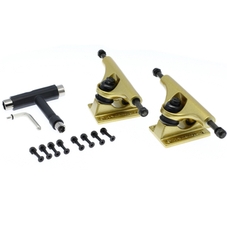 "Merkapa Skateboard Trucks Assembly Kit - 5"" Hanger 7.6'' Axle with Tool (Set of 2)"
