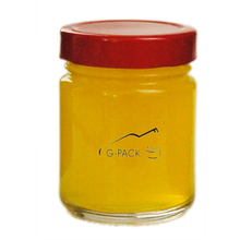 Straight Side Glass Honey Jars with Lids