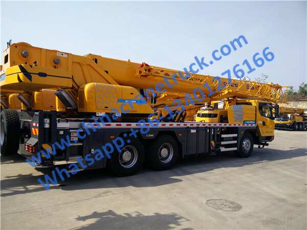 XCMG 25 ton truck mounted knuckle boom crane XCT25