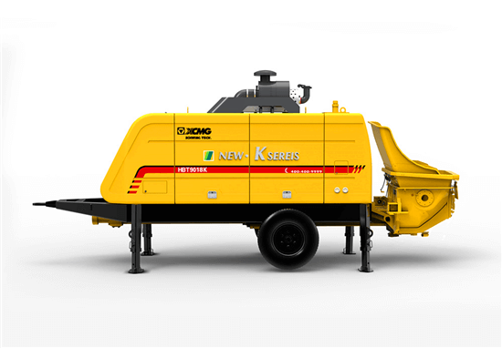 HBT9018K trailer concrete pump