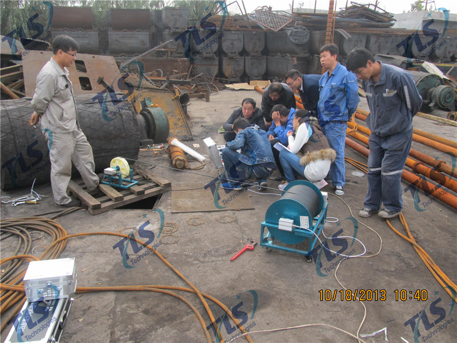 TLS Technologies Borehole Inspection Camera Application Case-Hongdong county coal mine well logging field-02