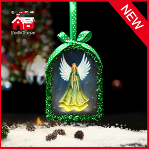 New Year Ornaments Arch Shaped Christmas Tree Decorative Ornaments