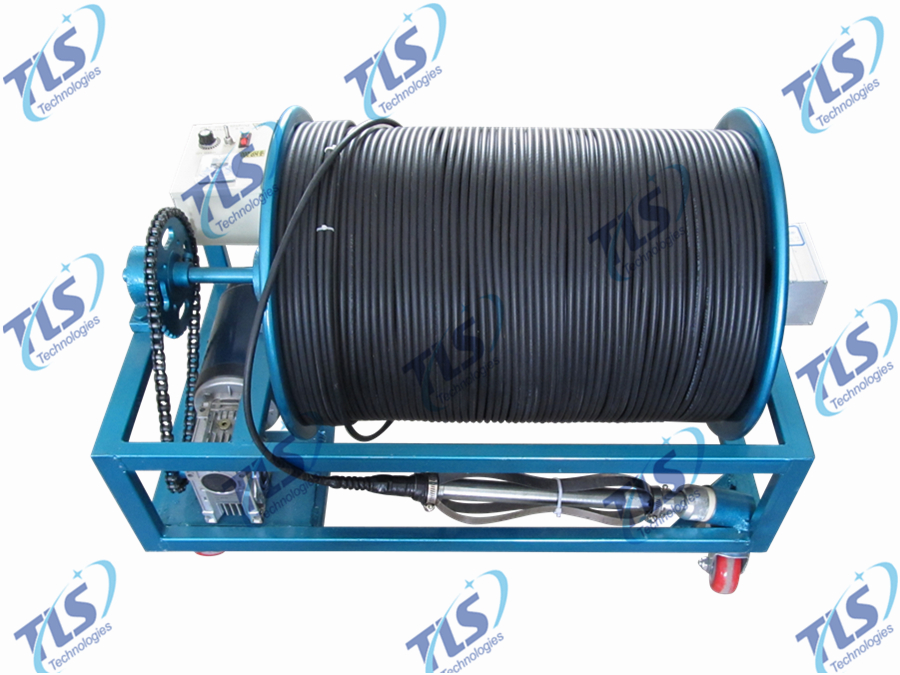 Electric Winch of TLSY-NW Borehole Inspection Camera System-2