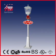 (LV180-3S1-WW) Outdoor Holiday Decoration Street Lamp with Flying Snow