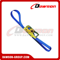 Endless Cargo Lashing Strap Assembly