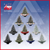 (18030U075-SW) Holiday Decorative Christmas Tree White Snow with Music