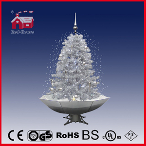 (40110U120-SW) LED Snowing Christmas Tree Xmas Decoration with Light Music