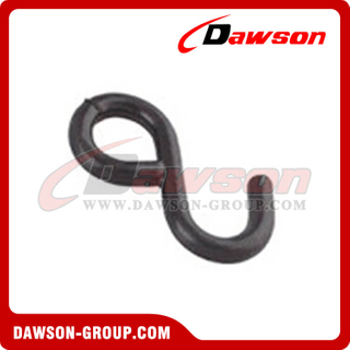 WHS2502 BS 800KG/1760LBS 1 inch Rubber Coated S Hook