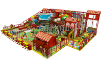 Hot Sale Indoor Amusement Soft Playground for Children 6647A